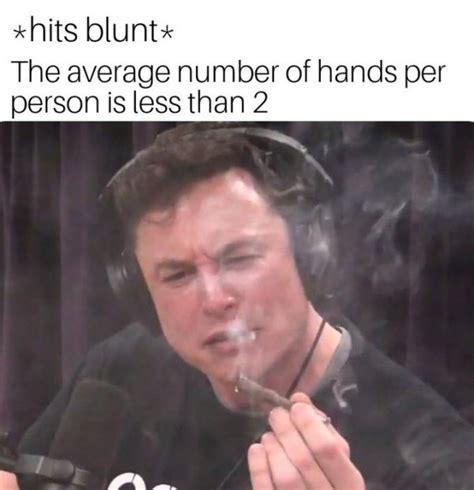 elon musk smoking weed   instant meme