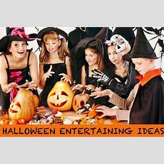 Halloween Entertaining Ideas  Party Decorations, Food