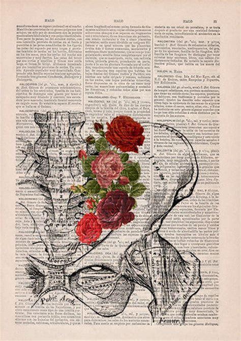 Springtime Pelvis Decorative Art Flowers Nature Inspired