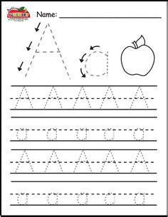 printable tracing letters  kids images