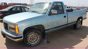 1990 Gmc Sierra 1500 Slx Pickup Truck