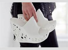 cubify's downloadable 3D printed shoes by janne kyttanen