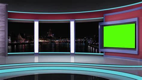 Virtual Green Screen Background Loop