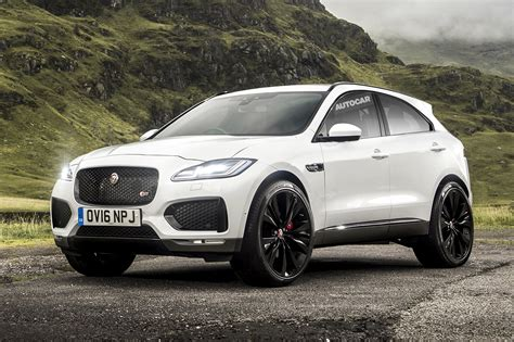 Jaguar Is Unveiling Their New Epace, A Smaller Fpace