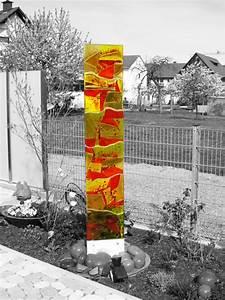 Zierbrunnen Für Den Garten : glas im garten glasdekore teufel ~ Sanjose-hotels-ca.com Haus und Dekorationen