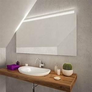 Spiegel Mit Schräge : tijuana led badspiegel mit dachschr ge online kaufen ~ Michelbontemps.com Haus und Dekorationen