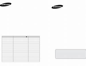 Samsung Flat Panel Television Le27s7 User Guide