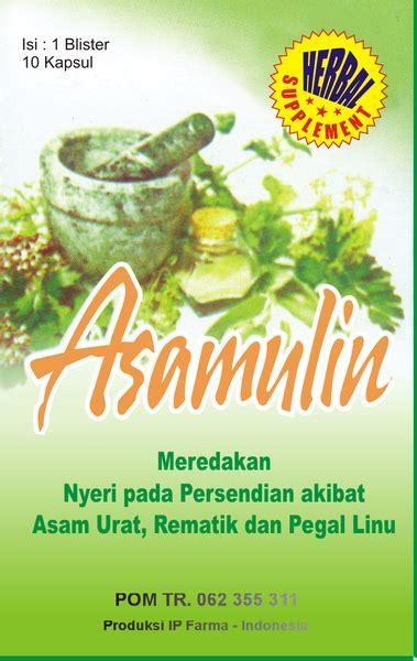 obat asamulin untuk asam urat grosir herbal murah