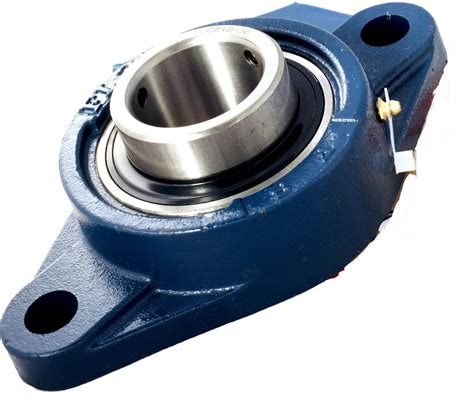 ucfl mm bore metric  bolt oval flange housed bearing
