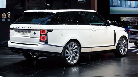 Land Rover 2019 by 2019 Land Rover Range Rover Sv Coupe Review Price