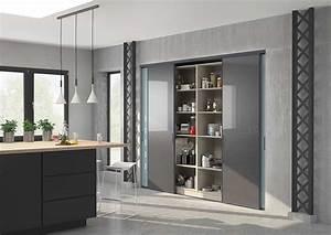 placard de cuisine et amenagements sur mesure centimetre With porte d entrée alu avec colonne salle de bain industriel