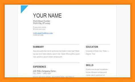 resume template  google drive lascazuelasphillycom