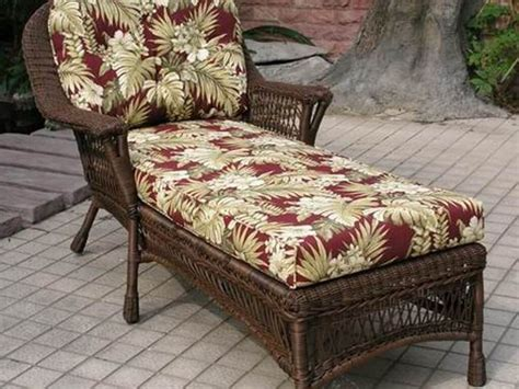 wicker patio furniture cushions replacement wicker chaise lounge replacement cushions
