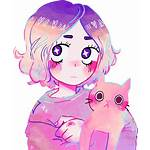 Anime Aesthetic Galaxy Pastel Picsart Drawing Drawings