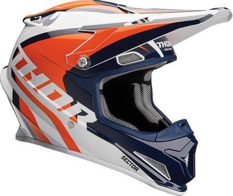 thor helmet motocross 109 95 thor sector ricochet dot approved mx motocross