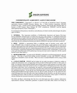 9 real estate confidentiality agreement templates free With real estate broker agreement template