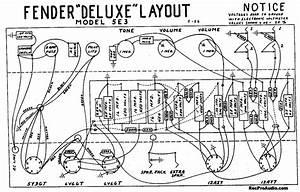 Fender Tweed Pro Schematic  Fender  Free Engine Image For