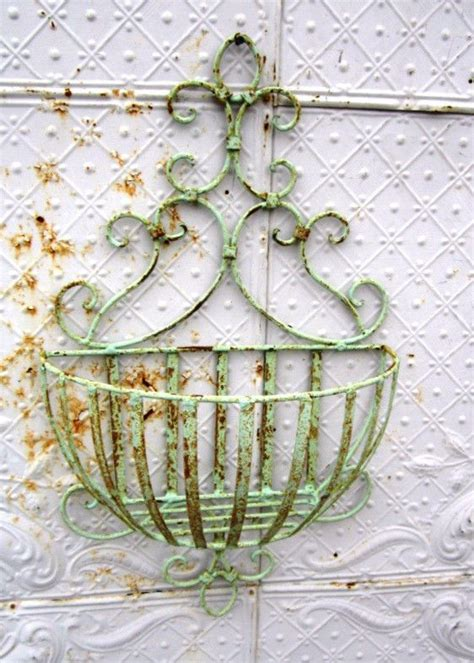 Outdoor Wall Planters Wrought Iron outdoor wall planters wrought iron diy decor pinterest