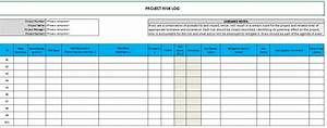 raid log template excel download free project management With project raid log template