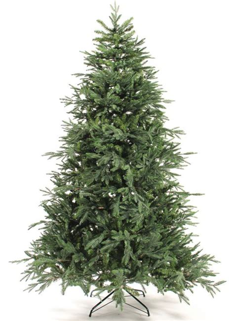 8 foot delaware spruce artificial christmas tree unlit