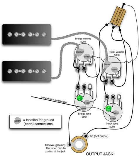 Gibson Les Paul Wiring Diagrams Together With