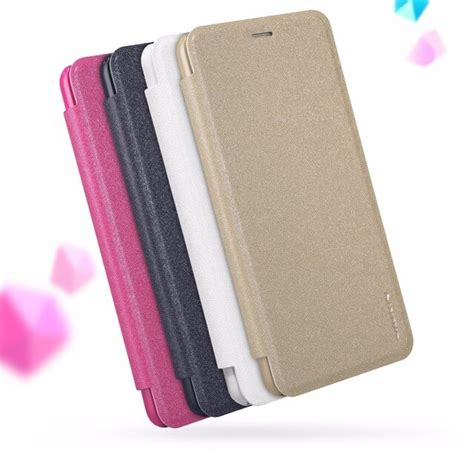 case meizu pro leather plus flip nillkin sparkle luxury brand mouse zoom