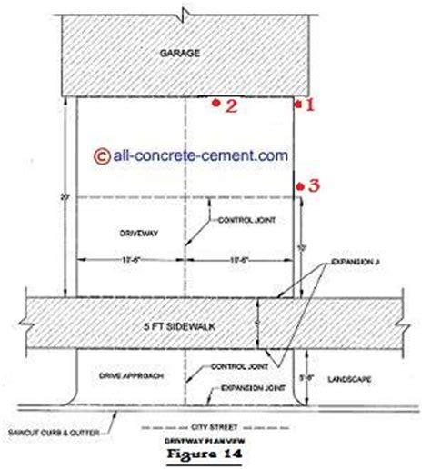 cement driveway garage floor cement driveways