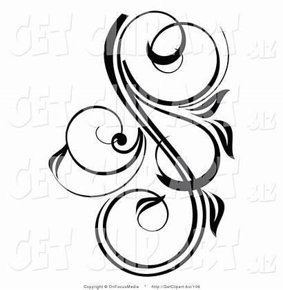 Pretty Accent Scrolling Clip Designs Clipart Scroll