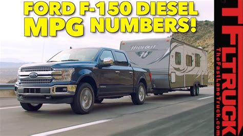 Is The 2018 Ford F-150 Diesel The King Of Mpg? Epa Ratings
