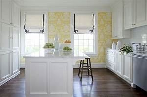 papier peint pour cuisine une touche de joie dans l With kitchen cabinets lowes with papiers peints farrow and ball