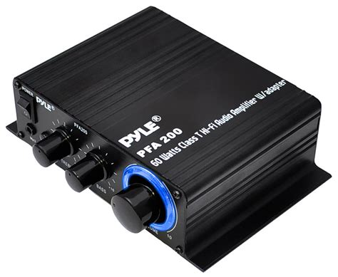 Pyle  PFA200  Home and Office  Amplifiers Receivers