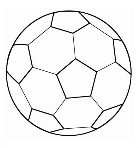soccer template 9 printable football templates free premium templates