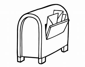 mail box coloring pages