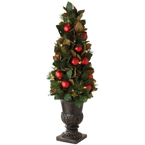 martha stewart led tree not working national tree company 4 ft fiber optic fireworks artificial tree with ornaments