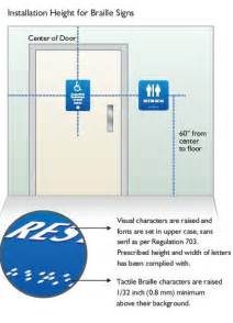 ada restroom sign height 9 best photos of signage mounting height regulations ada
