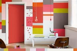 Deco Murale Blanche : d co murale 37 inspirations pour rafra chir votre int rieur ~ Teatrodelosmanantiales.com Idées de Décoration