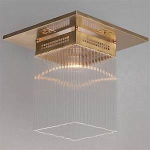 Art Deco Deckenleuchte : art d co kristallglas deckenleuchte hoffmann i 40 cm casa lumi ~ Sanjose-hotels-ca.com Haus und Dekorationen