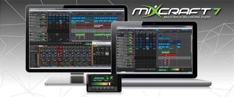 acoustica mixcraft  mixcraft pro studio  released
