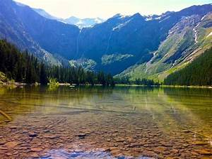 Avalanche Lake, Stillwater County, Montana - Avalanche Lake