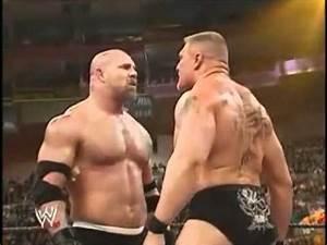 Video: Brock Lesnar vs Goldberg at WrestleMania 20