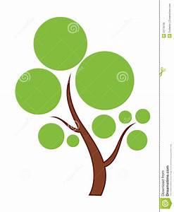 Green Tree icon stock vector. Image of symbol, green ...