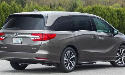Odyssey Redesign by 2018 Honda Odyssey Release Date And Price Noorcars