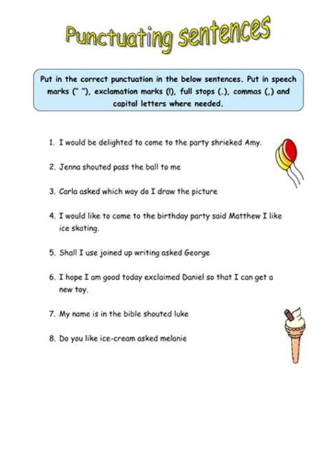 punctuation worksheets year 2 australia punctuation worksheets year 3 australia kidz activities