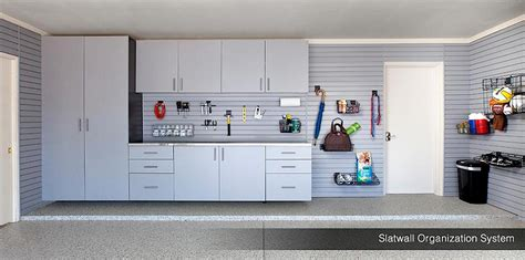 Garage Wall Systems by Garage Wall Storage Systems Gridwall Slatwall Workbench