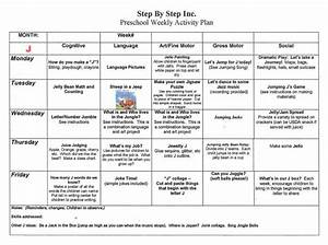 emergent curriculum preschool lesson plan template ...