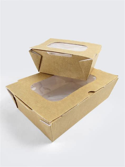 cuisine box cardboard food boxes with window