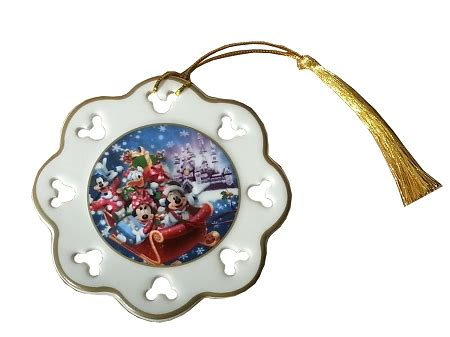 disney christmas ornament happy holidays 2013 mickey