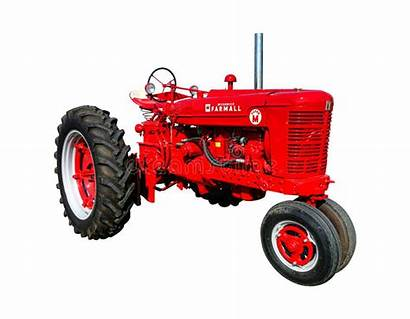 Farmall Tractor Agriculture Equipment Row Manufacturer Antique