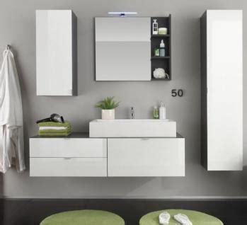 badezimmer hängeschrank mit spiegel badezimmer h 228 ngeschrank mit spiegel innenseitig hochglanz wei 223 grau 35 x 83 cm kaufen
