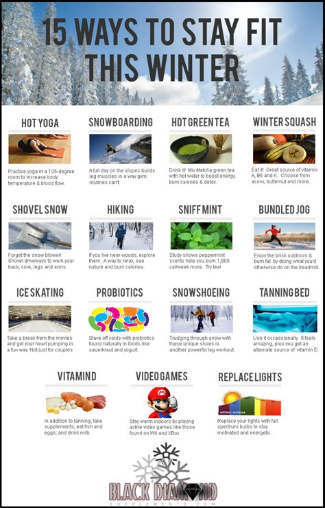 15 Ways To Stay Fit This Winter [infographic]  Black. Living Room Fireplaces Pictures. The Living Room At Maidstone. Living Room Decor With Zebra Print. Living Room Decor With Beige Couches